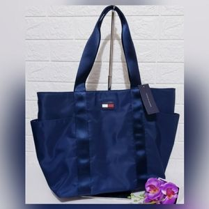 NEW Tommy Hilfiger Nylon Cary All Tote Bag